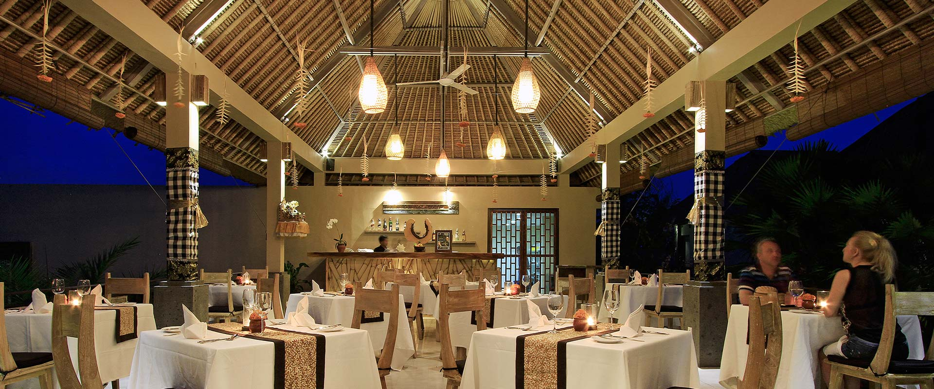 The Kumbuh Restaurant Ubud